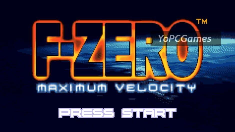 f-zero: maximum velocity screenshot 5