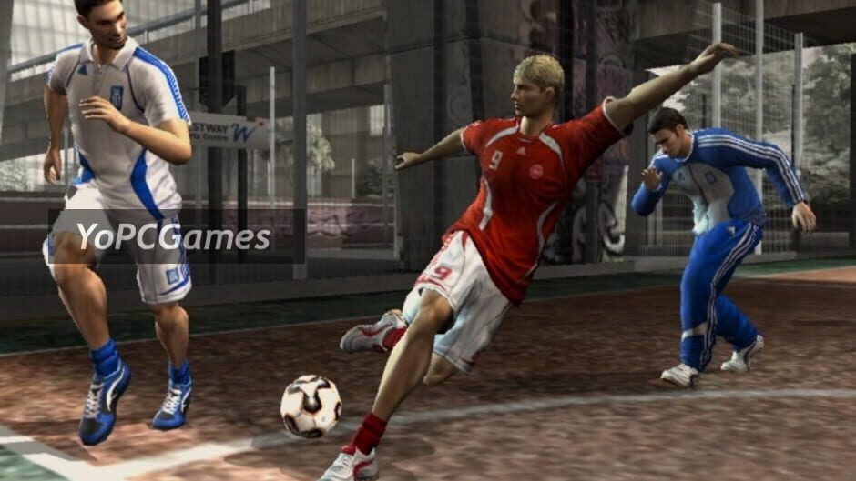 fifa street 2 screenshot 3