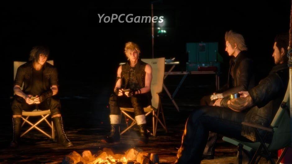 final fantasy xv: episode gladiolus screenshot 1