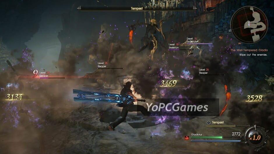 final fantasy xv: episode gladiolus screenshot 4
