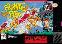 frantic flea poster