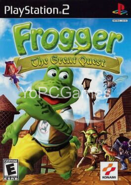 frogger: the great quest poster