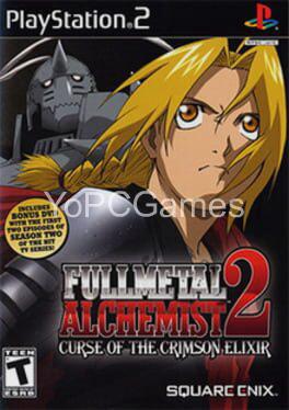 fullmetal alchemist 2: curse of the crimson elixir cover