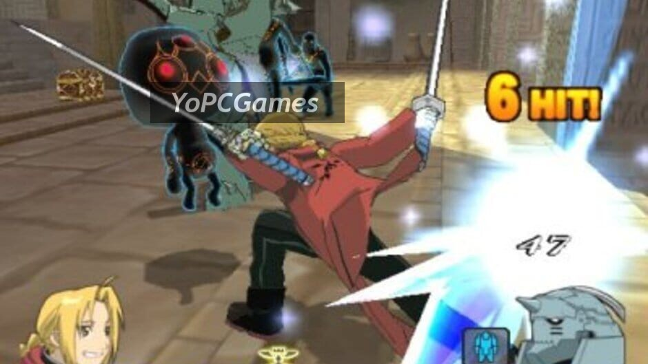 fullmetal alchemist 2: curse of the crimson elixir screenshot 1