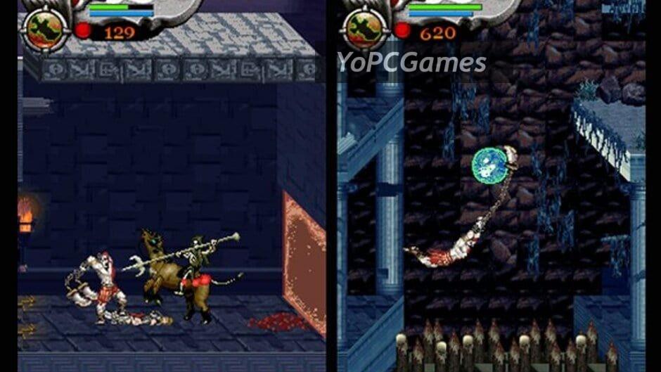 god of war: betrayal screenshot 1