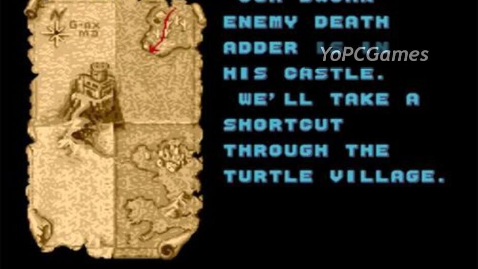 golden axe screenshot 3