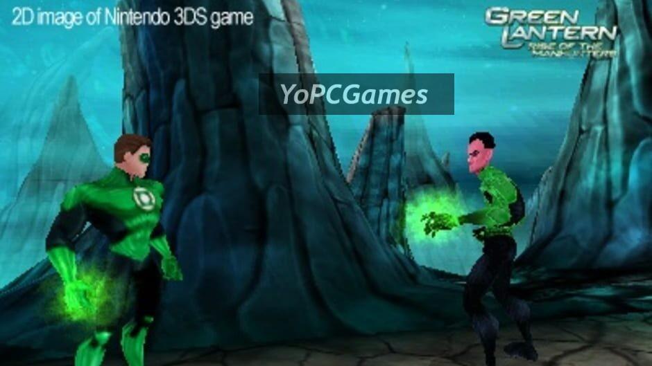 green lantern: rise of the manhunters screenshot 1