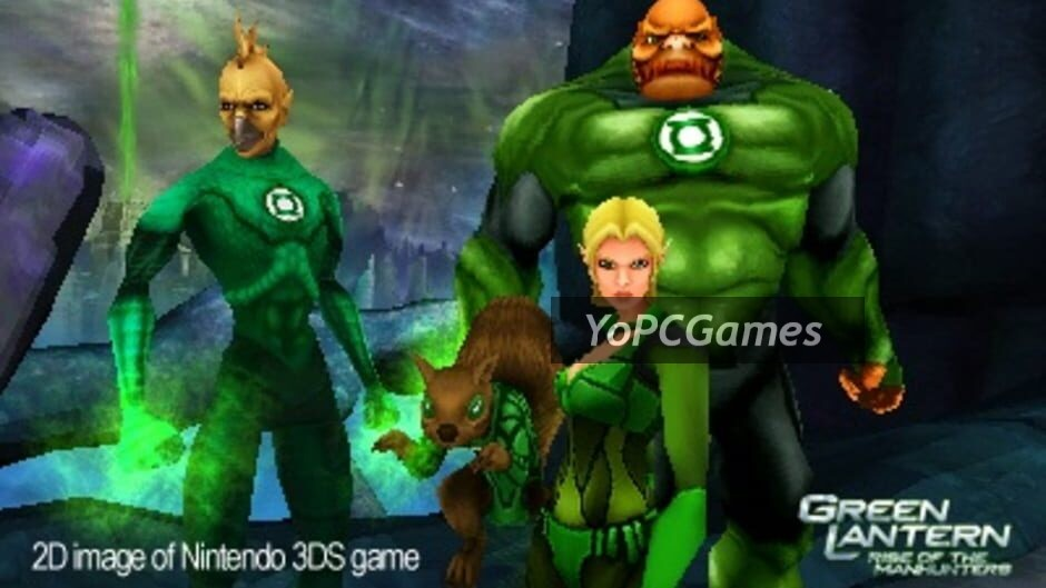 green lantern: rise of the manhunters screenshot 2