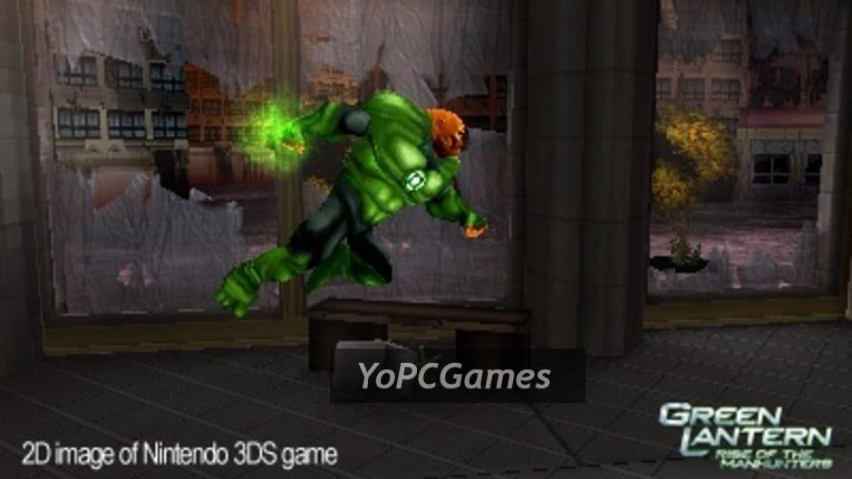 green lantern: rise of the manhunters screenshot 3