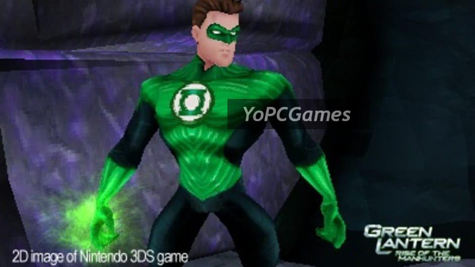 green lantern: rise of the manhunters screenshot 4