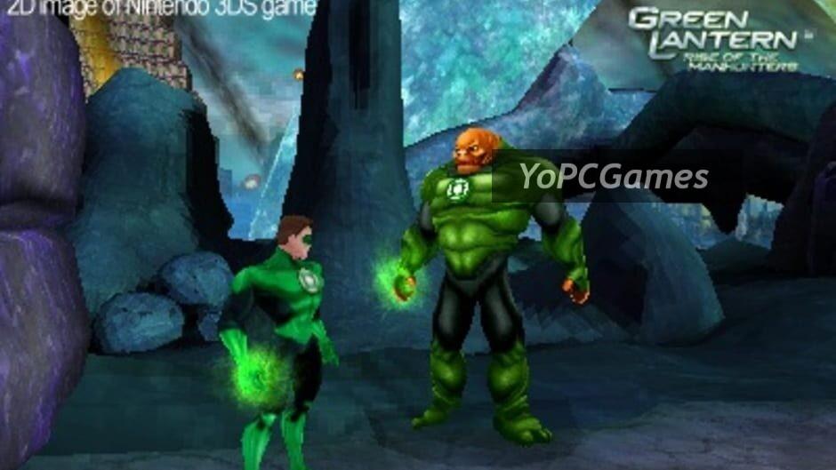 green lantern: rise of the manhunters screenshot 5