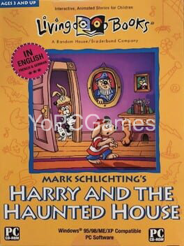 harry and the haunted house poster