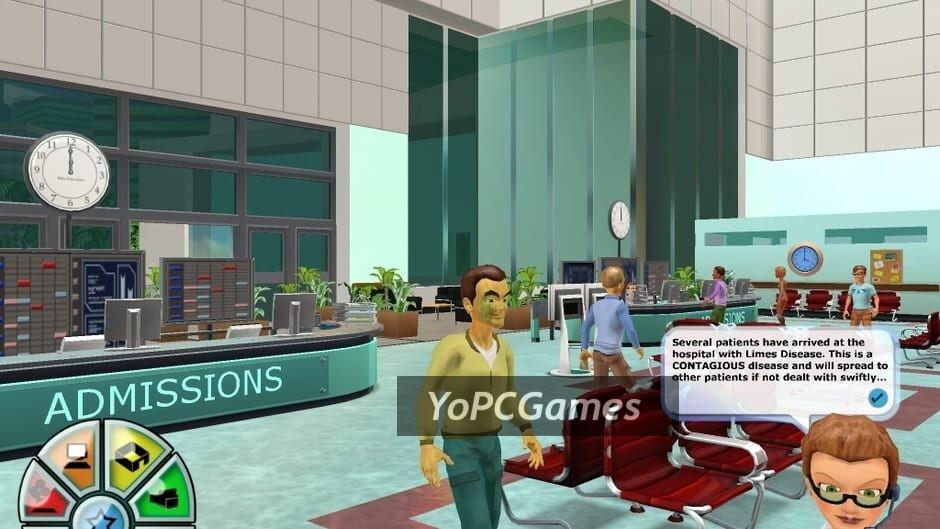 hospital tycoon screenshot 2