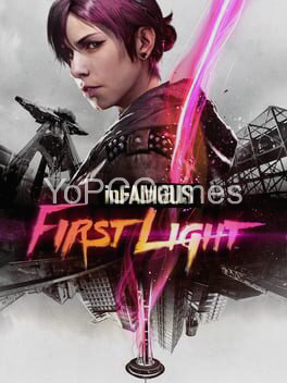 infamous: first light game