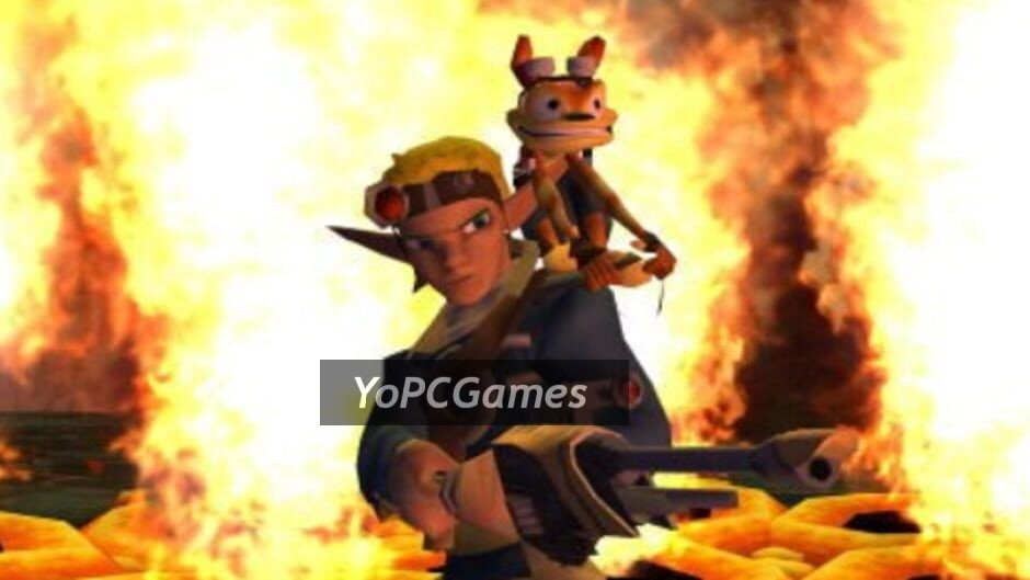 jak and daxter: the lost frontier screenshot 1