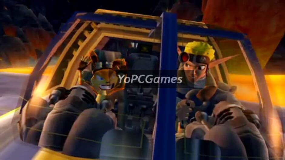 jak and daxter: the lost frontier screenshot 2