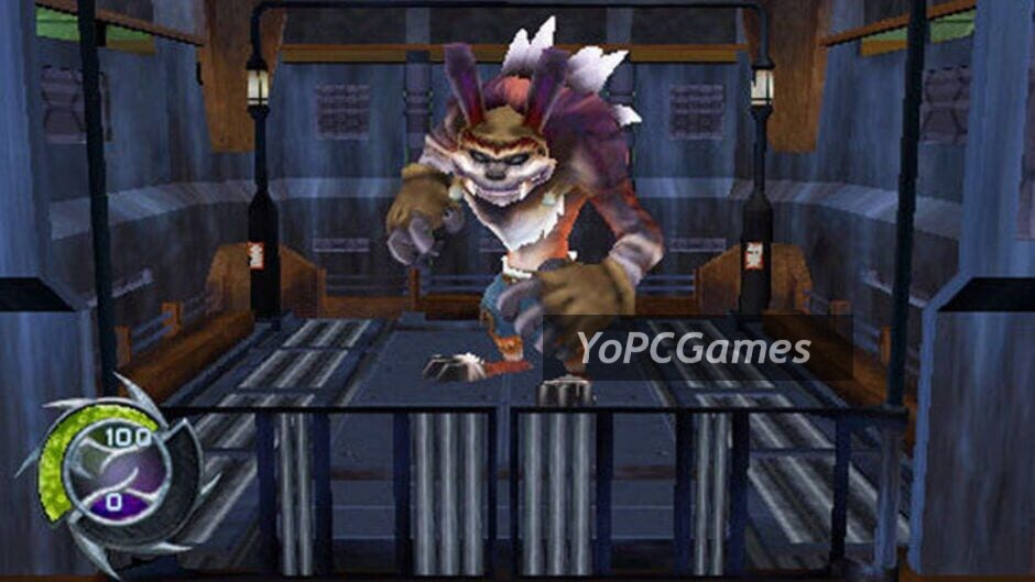 jak and daxter: the lost frontier screenshot 3