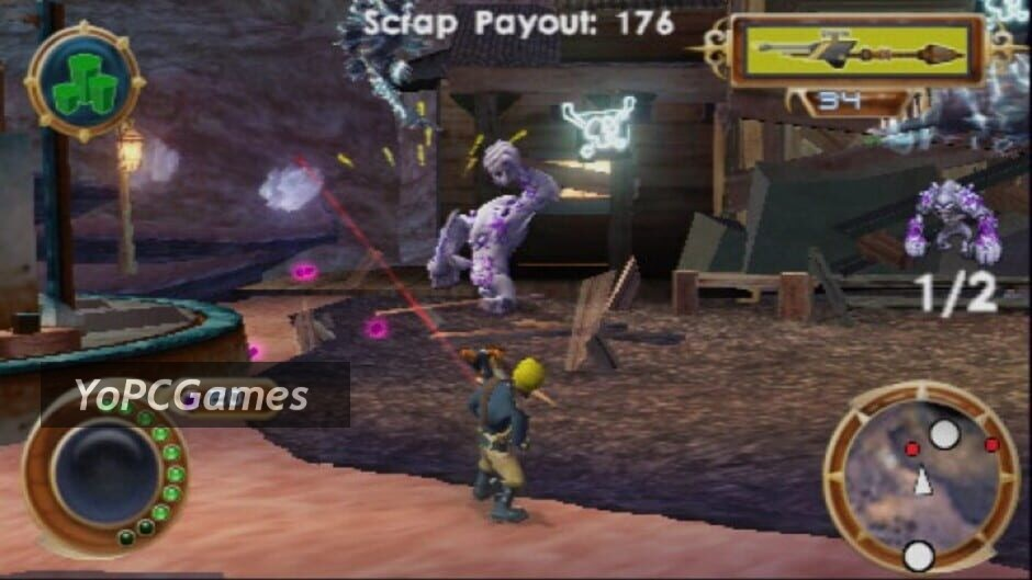 jak and daxter: the lost frontier screenshot 4