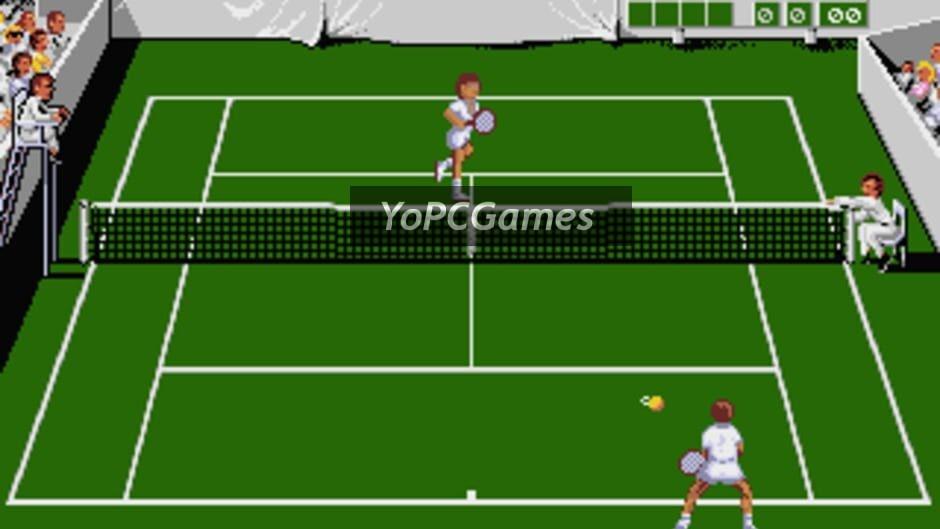 jimmy connors pro tennis tour screenshot 1