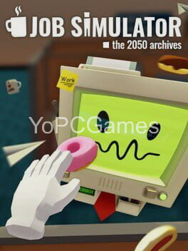 job simulator: the 2050 archives poster