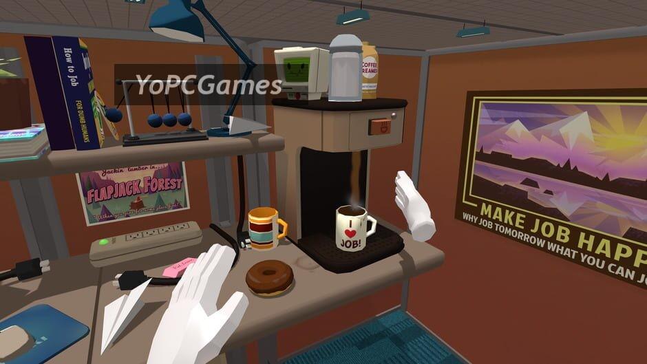 job simulator: the 2050 archives screenshot 1