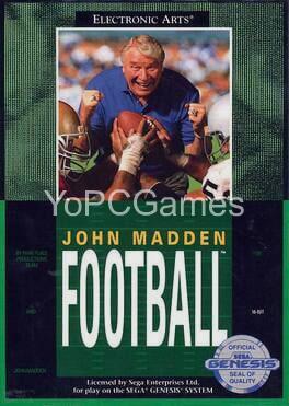 john madden football poster