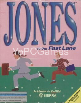 jones in the fast lane poster
