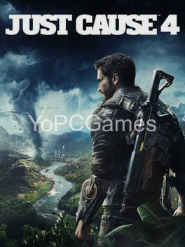 just cause 4 poster