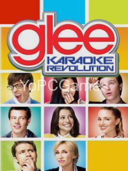 karaoke revolution: glee poster