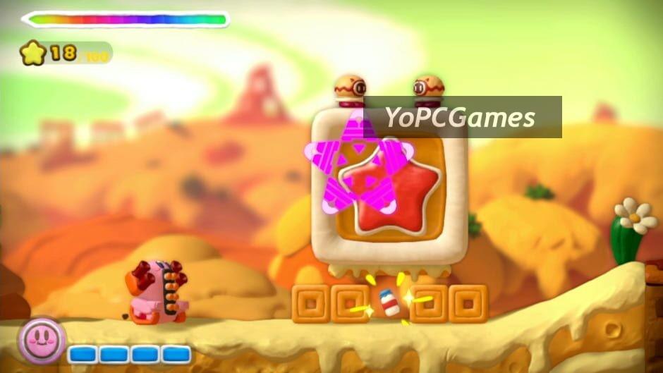 kirby and the rainbow curse screenshot 2