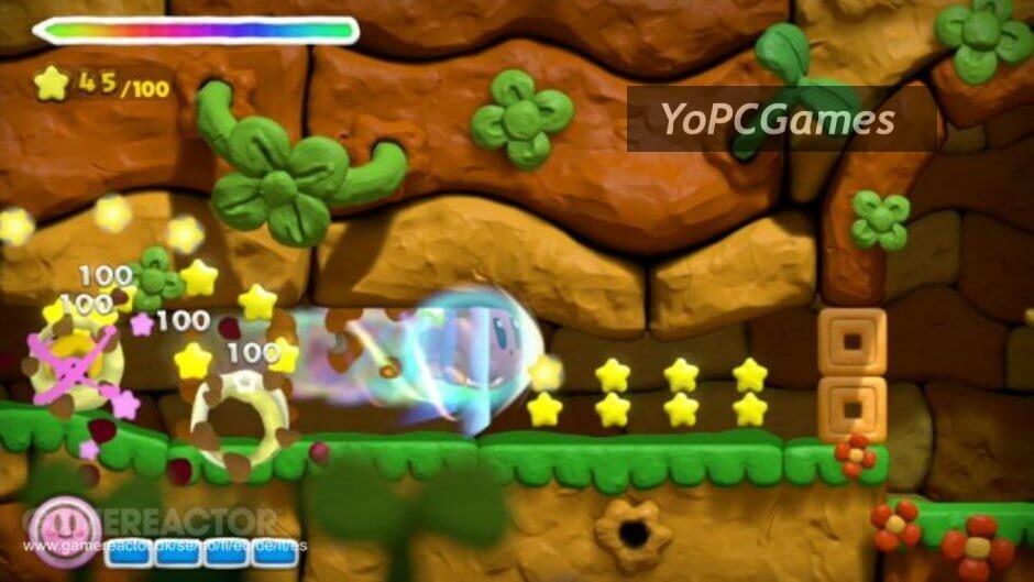 kirby and the rainbow curse screenshot 3