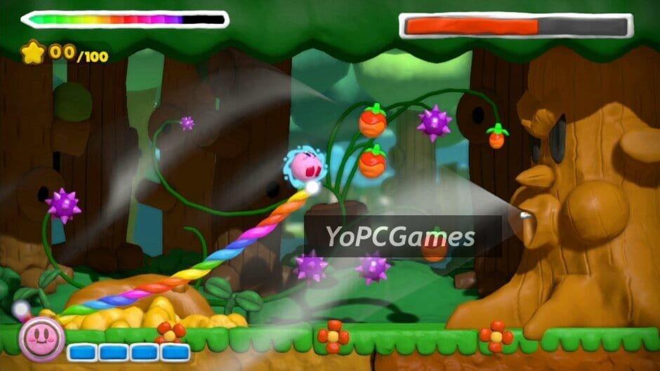 kirby and the rainbow curse screenshot 4