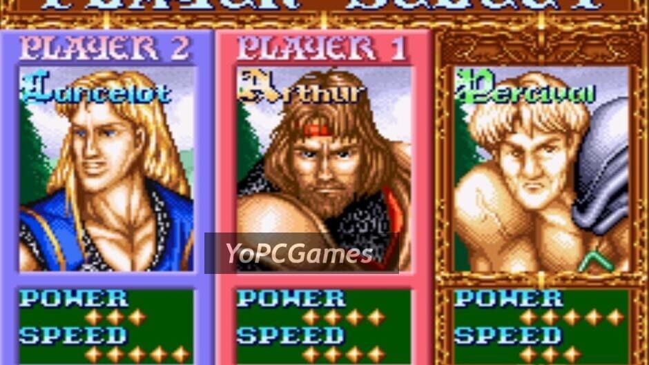 knights of the round screenshot 2