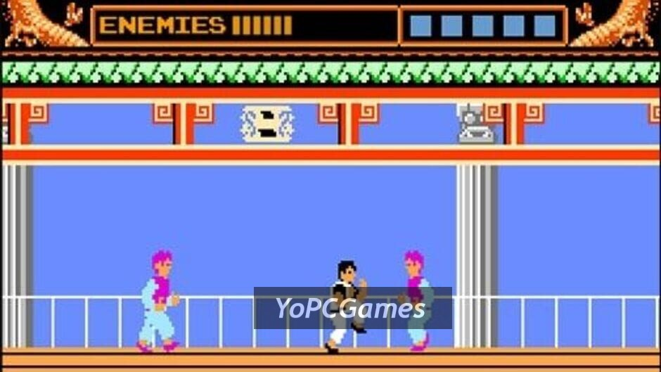 kung-fu master screenshot 1