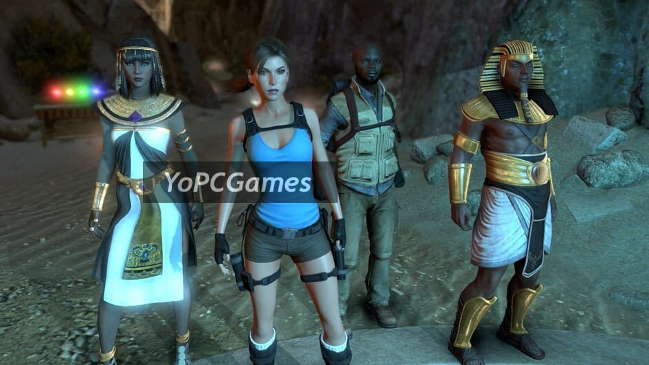 lara croft and the temple of osiris screenshot 1