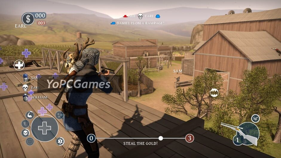 lead and gold: gangs of the wild west screenshot 2