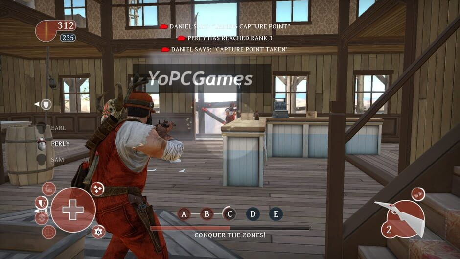 lead and gold: gangs of the wild west screenshot 5