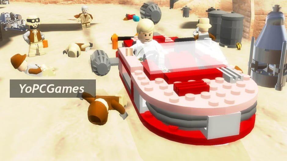 lego star wars ii: the original trilogy screenshot 1