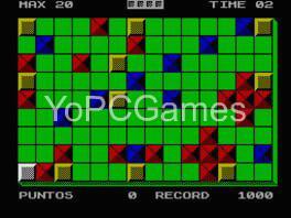 maniac square game