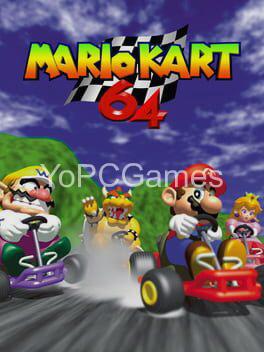 mario kart 64 poster