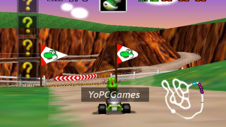mario kart 64 screenshot 4
