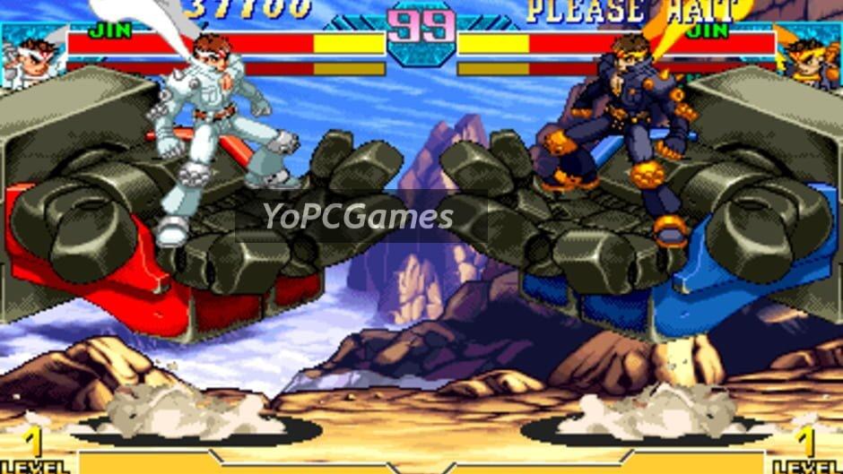 marvel vs. capcom: clash of super heroes screenshot 4
