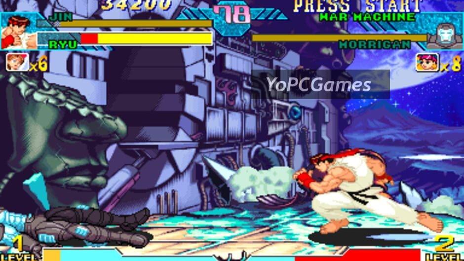 marvel vs. capcom: clash of super heroes screenshot 5