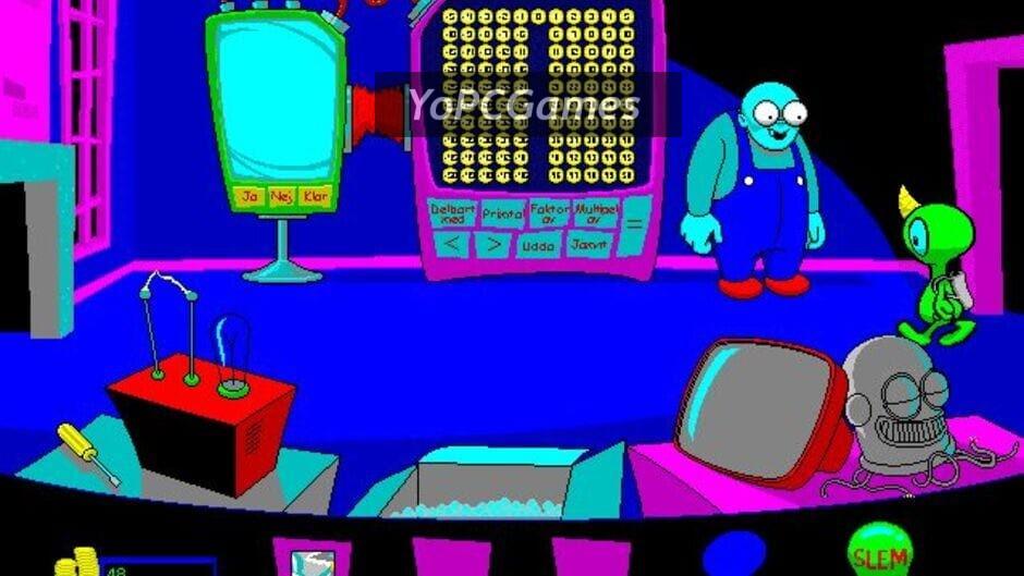 math blaster mystery: the great brain robbery screenshot 4