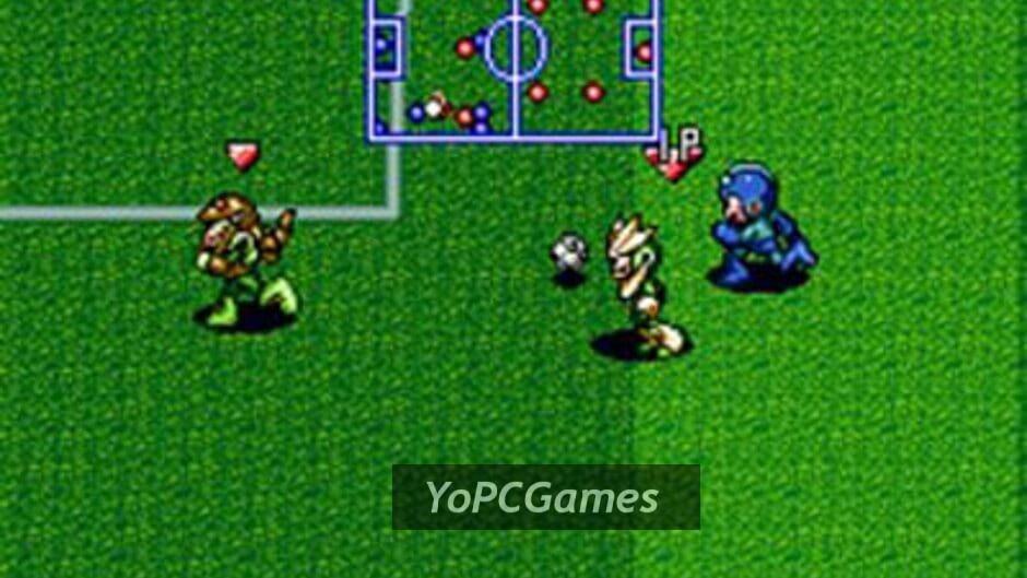 mega man soccer screenshot 1