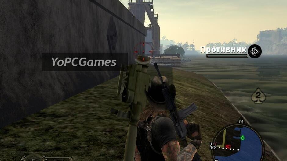 mercenaries 2: world in flames screenshot 1