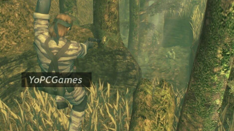 metal gear solid 3: snake eater screenshot 1