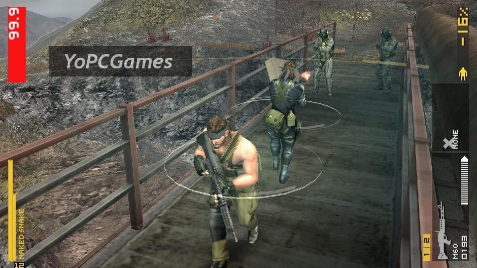 metal gear solid: peace walker screenshot 3