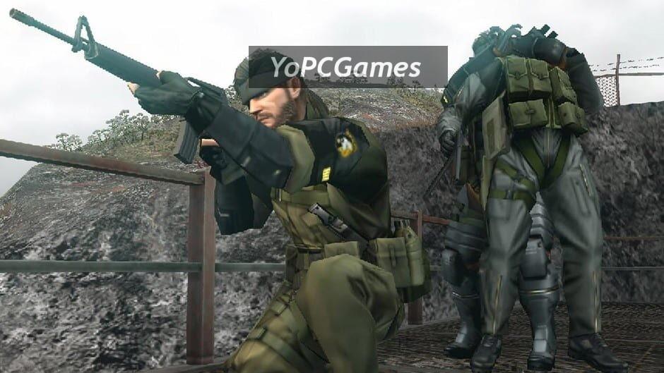 metal gear solid: peace walker screenshot 4
