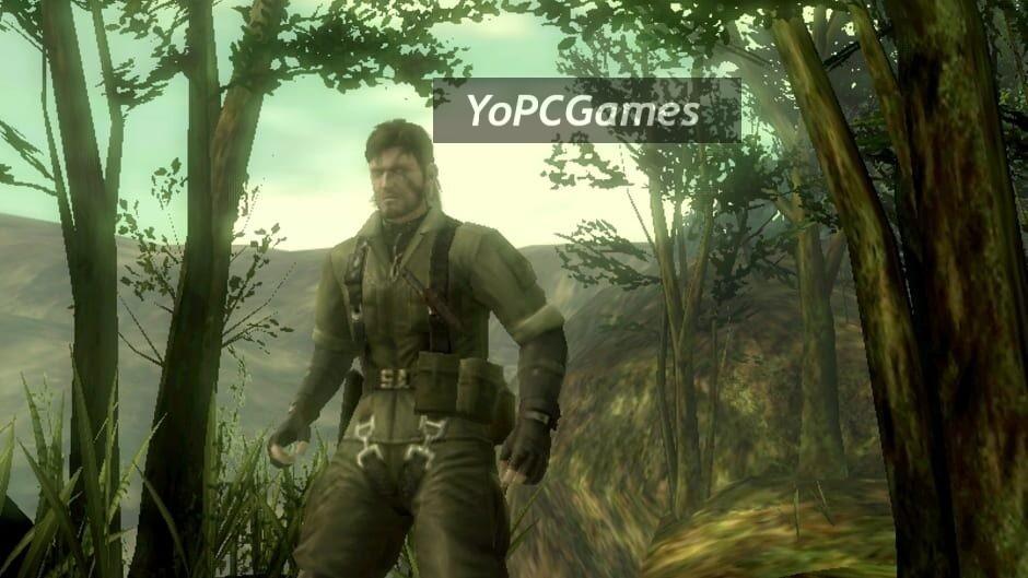 metal gear solid: snake eater 3d screenshot 1